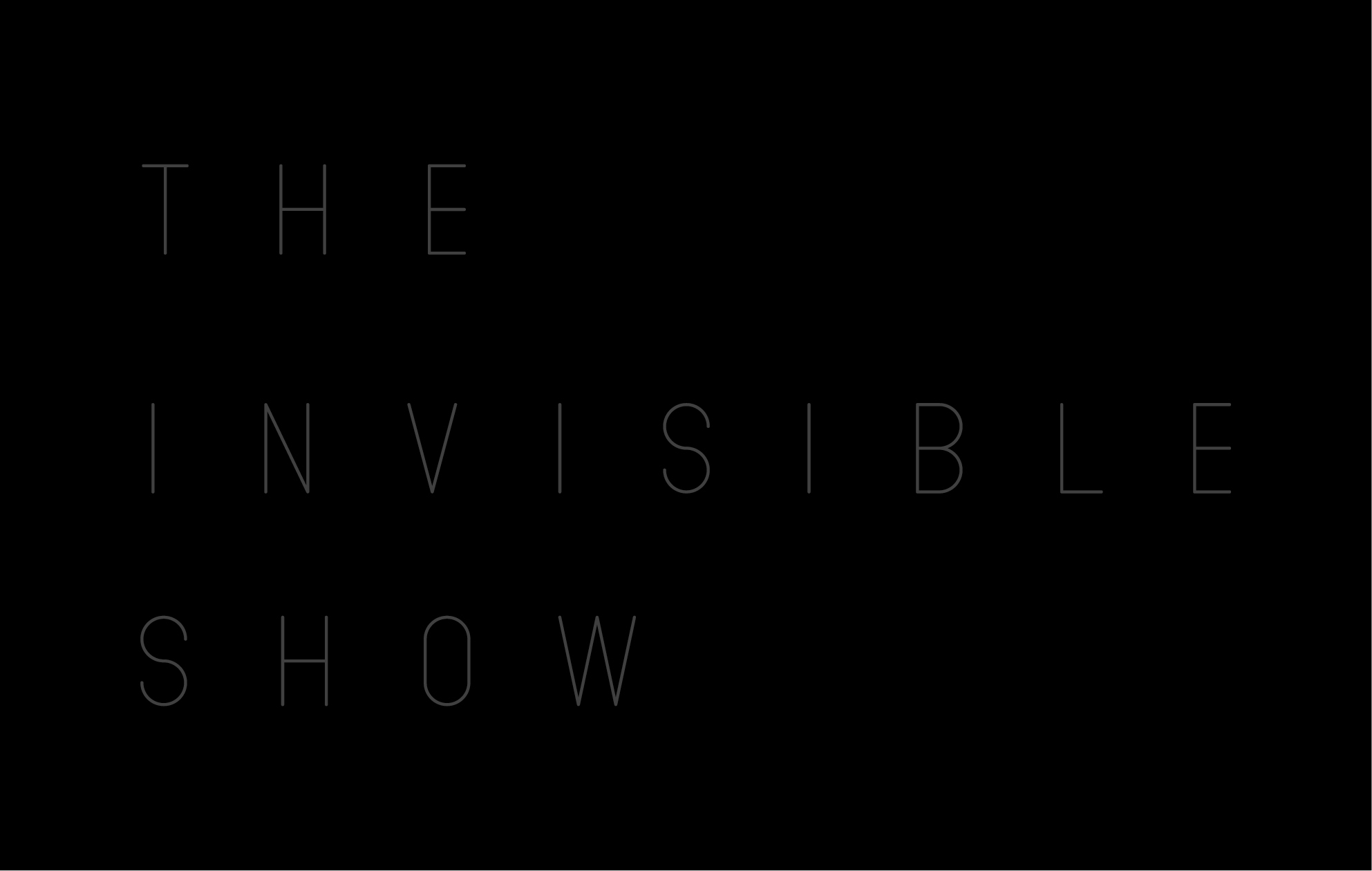 THE INVISIBLE SHOW