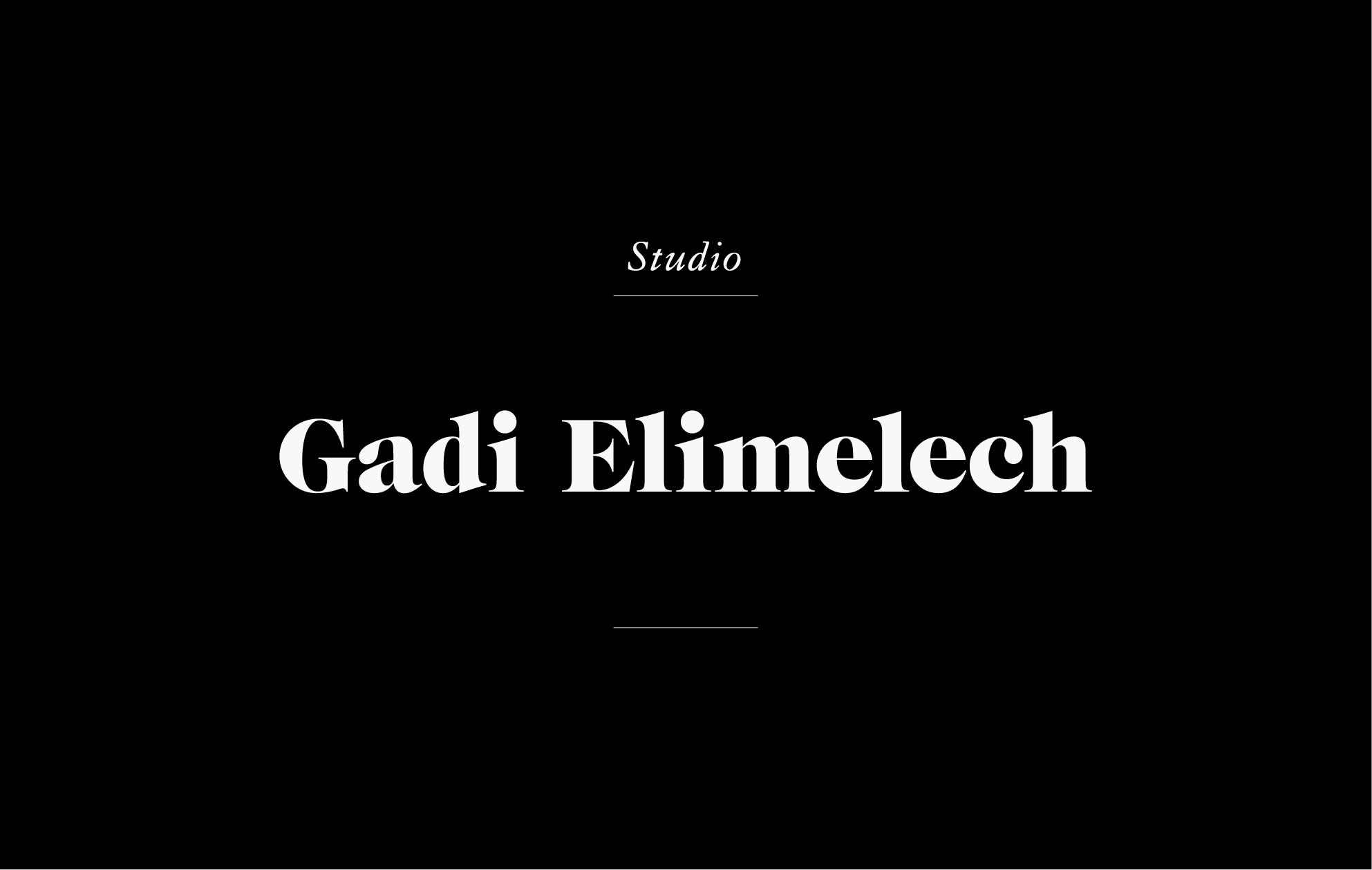GADI ELIMELECH STUDIO